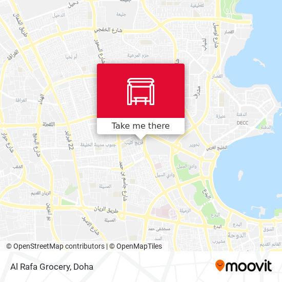 Al Rafa Grocery map