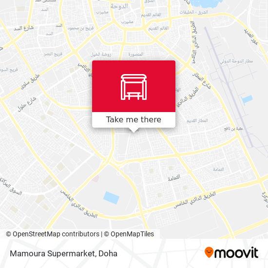 Mamoura Supermarket map