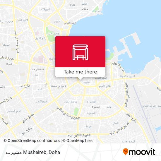 Musheireb map