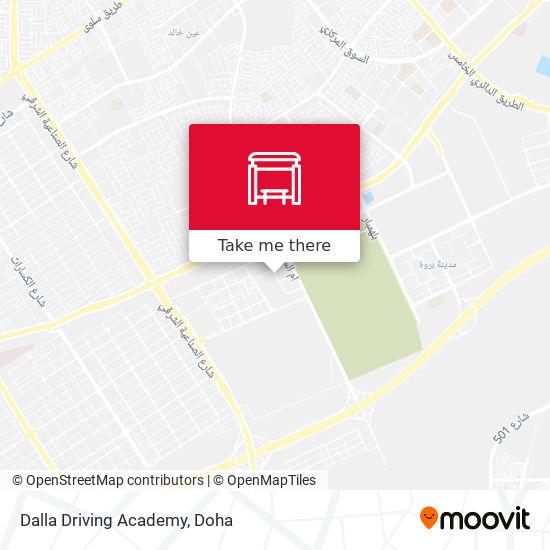 Dalla Driving Academy map