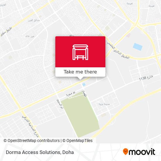 Dorma Access Solutions map