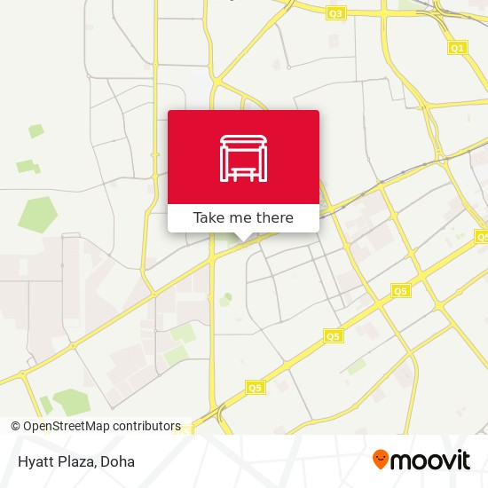Hyatt Plaza map