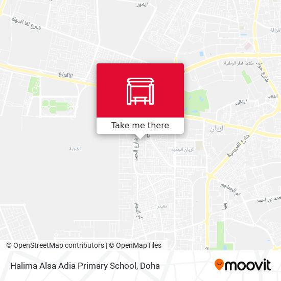Halima Alsa Adia Primary School map