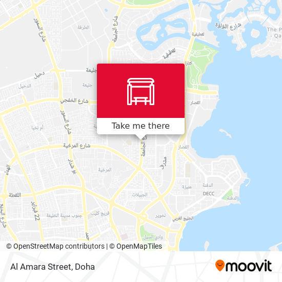 Al Amara Street map