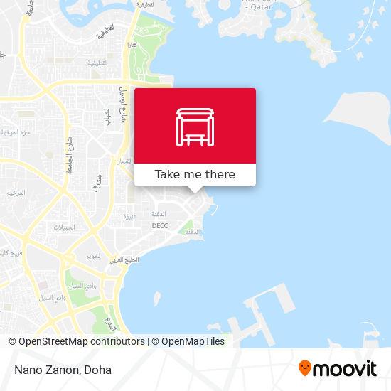 Nano Zanon map