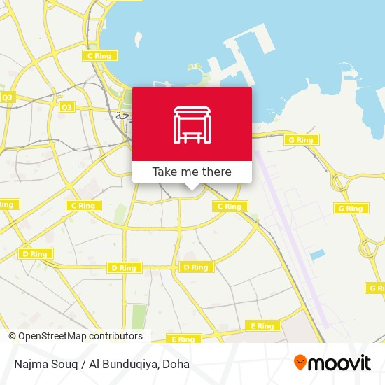 Najma Souq / Al Bunduqiya map