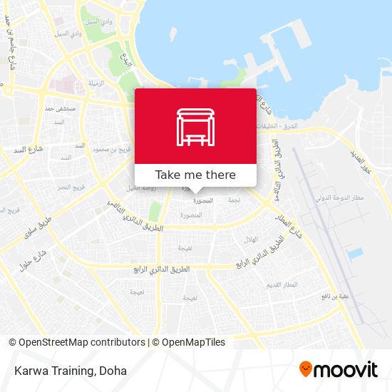 Karwa Training map
