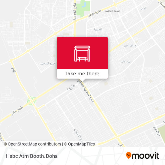 Hsbc Atm Booth map
