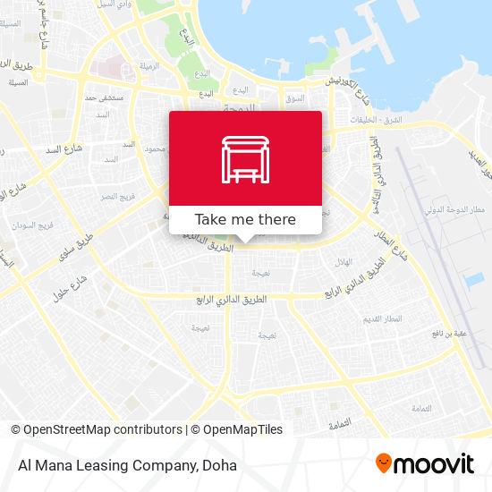 Al Mana Leasing Company map
