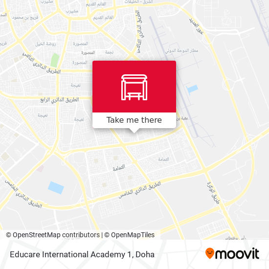 Educare International Academy 1 map