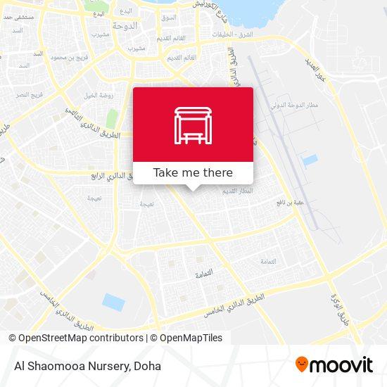 Al Shaomooa Nursery map