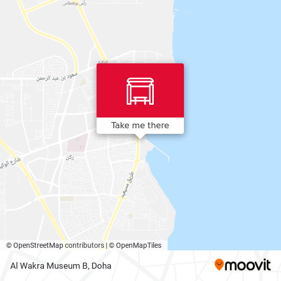 Al Wakra Museum B map