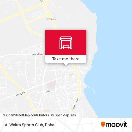Al Wakra Sports Club map