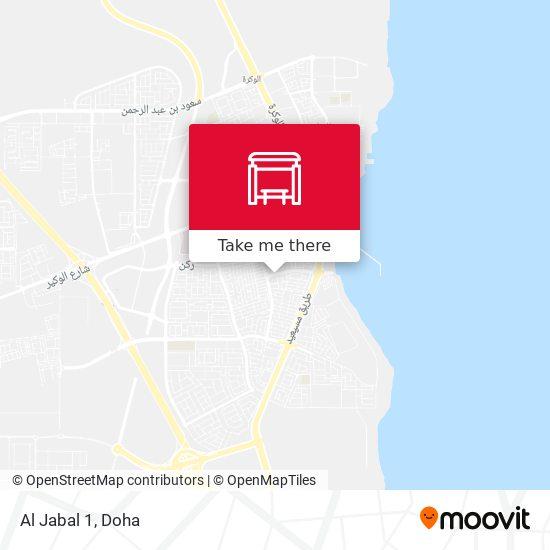 Al Jabal 1 map