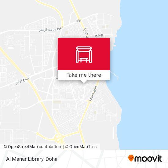 Al Manar Library map