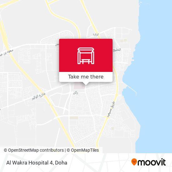 Al Wakra Hospital 2 map