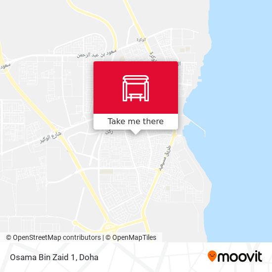 Osama Bin Zaid 1 map
