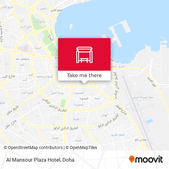 Al Mansour Plaza Hotel map