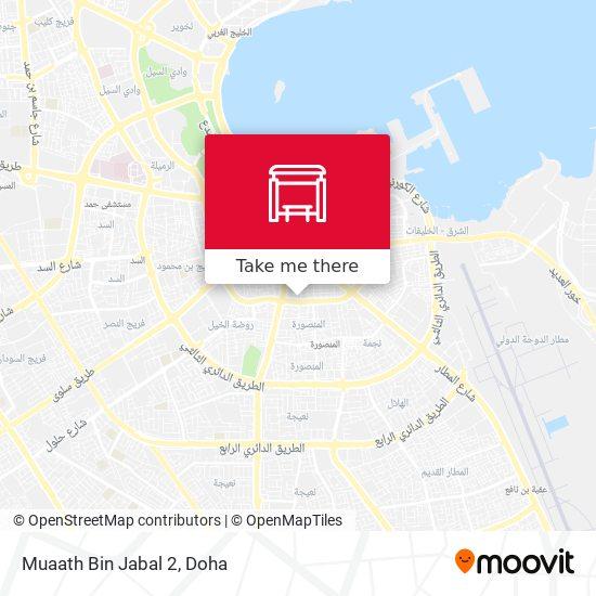 Muaath Bin Jabal 2 map