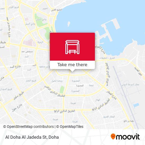 Al Doha Al Jadeda St map
