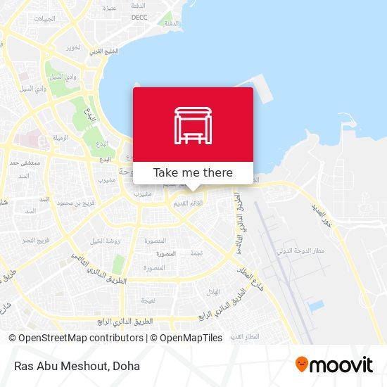 Ras Abu Meshout map