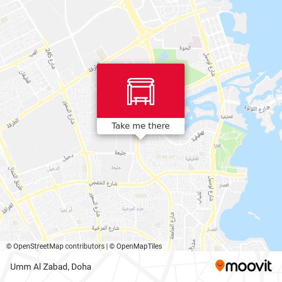 Umm Al Zabad map