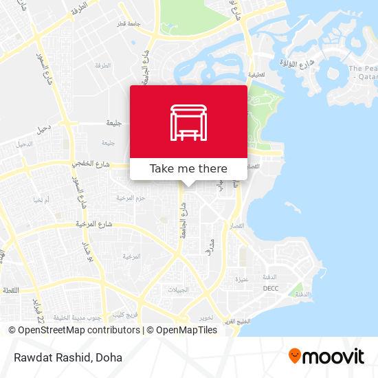 Rawdat Rashid map