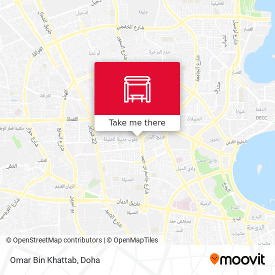 Omar Bin Khattab map
