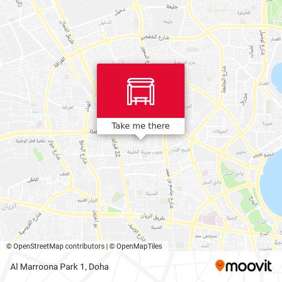 Al Marroona Park 1 map