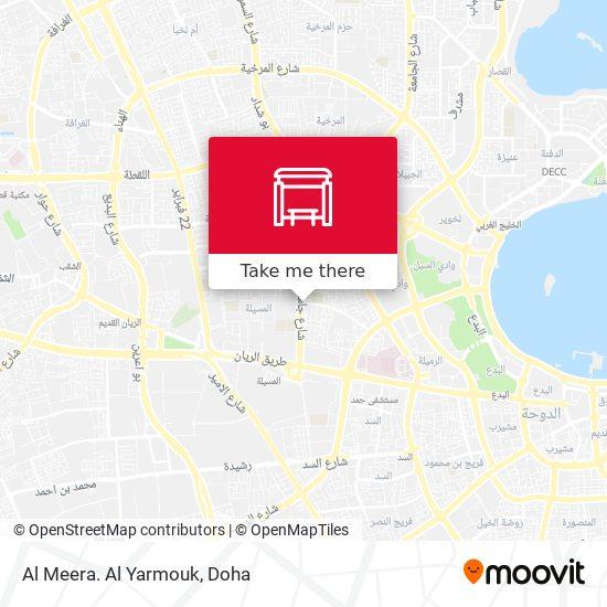 Al Meera. Al Yarmouk map