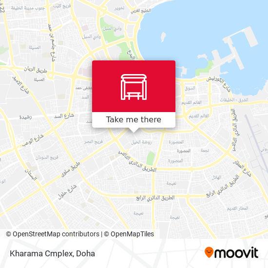 Kharama Cmplex map