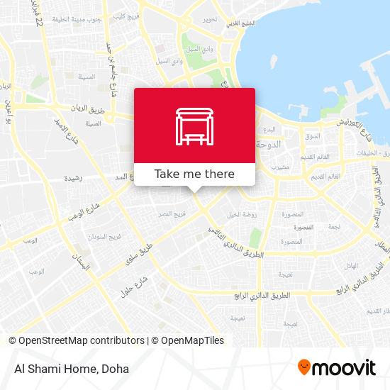 Al Shami Home map
