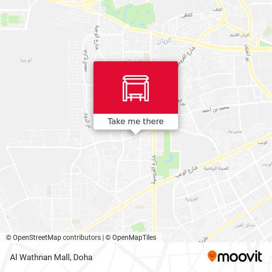 Al Wathnan Mall map