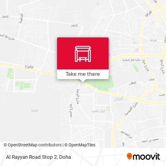 Al Rayyan Road Stop 2 map