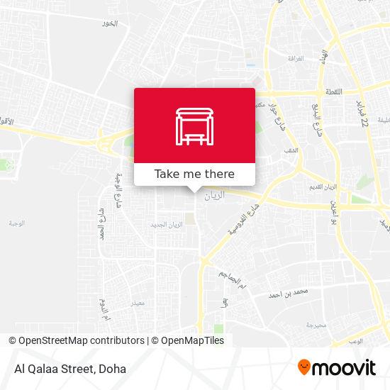 Al Qalaa Street map