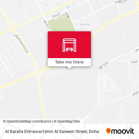 Al Baraha Entrance / Umm Al Saneem Street map