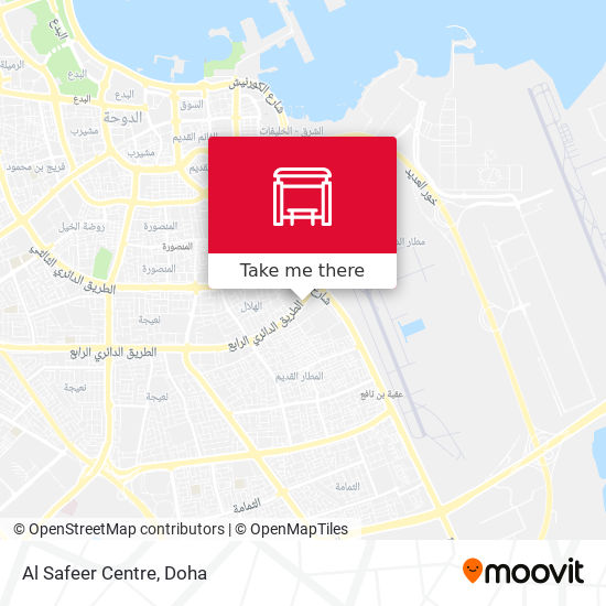 Al Safeer Centre map