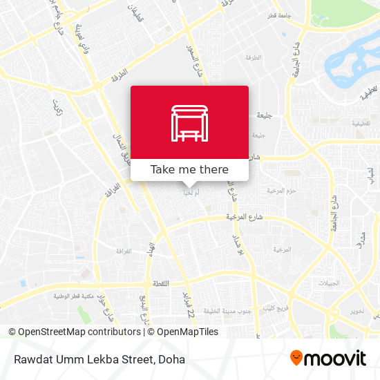 Rawdat Umm Lekba Street map