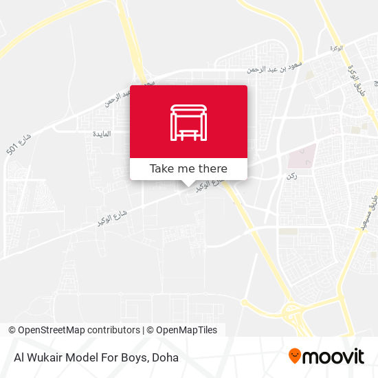 Al Wukair Model For Boys map