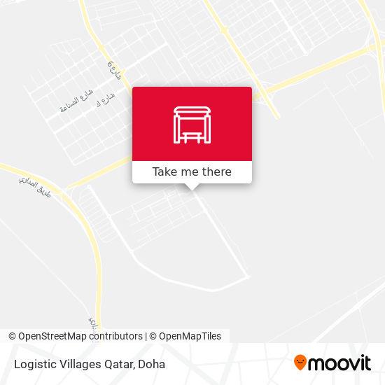 Logistic Villages Qatar map