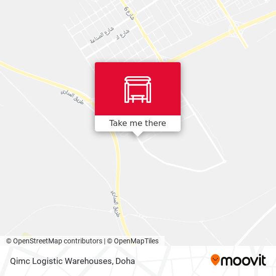Qimc Logistic Warehouses map