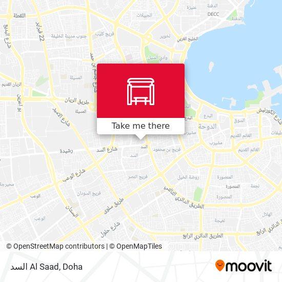 Al Saad map