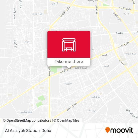 Al Aziziyah Station map