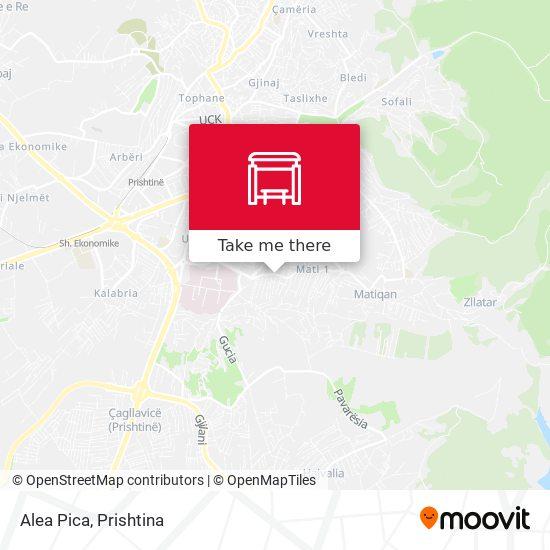 Alea Pica map