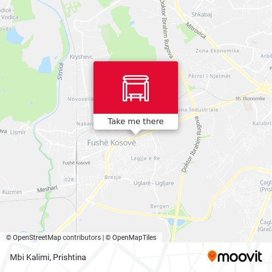Mbi Kalimi map