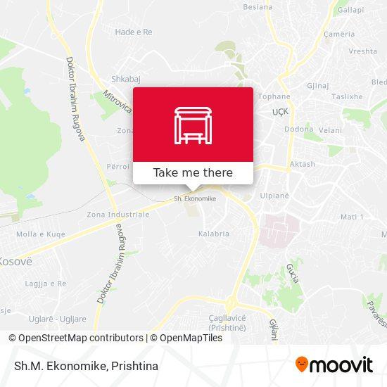 Sh.M. Ekonomike map