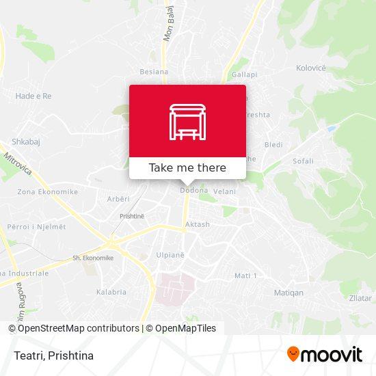 Teatri map