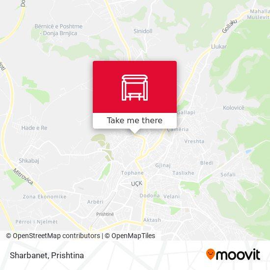 Sharbanet map