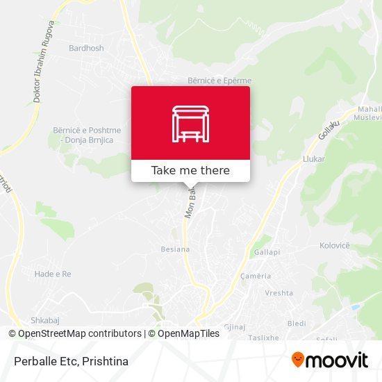 Perballe Etc map