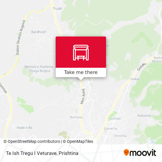 Te Ish Tregu I Veturave map